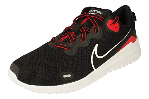 Nike Renew Ride Hombre Running Trainers CD0311 Sneakers Zapatos (UK 7 US 8 EU 41, Black White Red Anthracite 004)