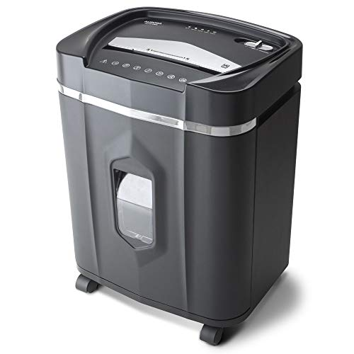 Aurora AU1410MA Professional Grade High Security 14-Sheet Micro-Cut Paper/CD and Credit Card/ 30 Minutes Continuous Run Time Shredder