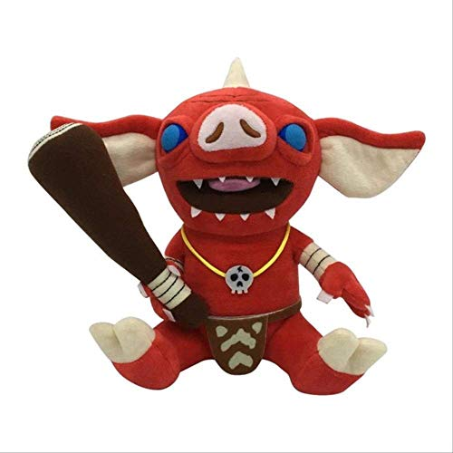 N\A 21cm Animal Bokoblin Zelda Breath of The Wild Peluches Suave Anime Muñeca Rellena Juguetes Bokoblin