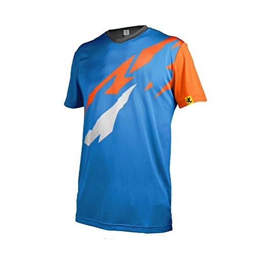 UGLY FROG MTB Downhill Cycling Jersey Fahrradtrikot Kurzarm für Herren Radtrikot T Shirt Radsport