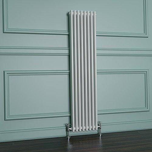 ELEGAN 1500 x 376 mm Traditional Radiator Vertical...