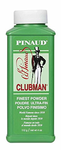 Clubman Pinaud Powder for After Haircut or Shaving, White, 4oz