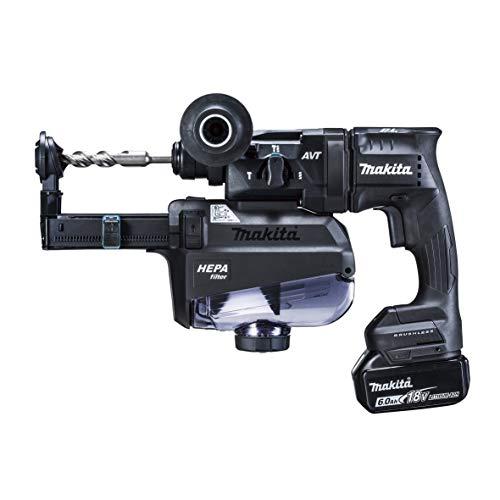 マキタ 充電式ハンマドリル18V 18mm/ハツリ可 SDS+ 集じんシステム・バッテリ充電器付 黒 HR182DGXVB