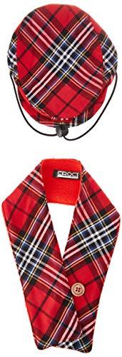 Croci C7274490 Sjaal en hoed voor honden, Tartan, M