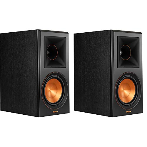 Klipsch RP-600M Bookshelf Speakers (Pair) (Ebony)