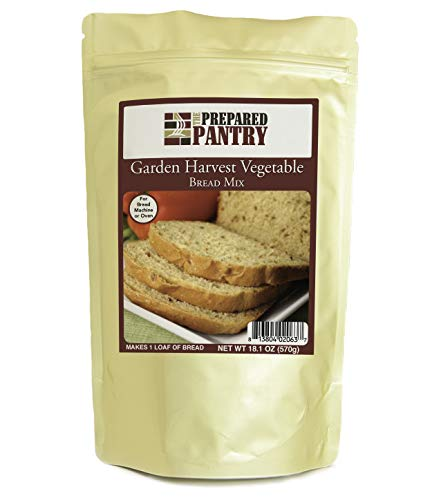 The Prepared Pantry Garden Harvest Vegetable Gourmet Bread Mix; Single Pack; For Bread Machine or Oven