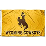 College Flags & Banners Co. Wyoming Cowboys Wordmark Flag