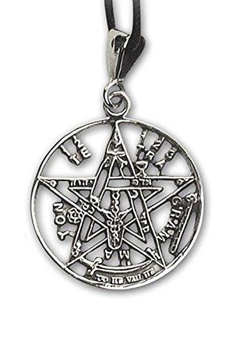 Anhänger Tetragrammaton Magischer 925er Silber Schmuck - Schutzamulett
