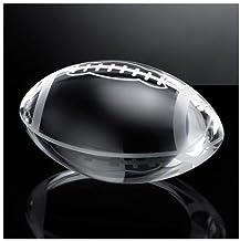 والیز و F شفاف کریستال سبک وزن آمریکایی فوتبال با شکل های کلکسیونی توپ توپ شیشه ای ورزشی