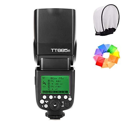 【Godox正規代理店&技適マーク付き】Godox TT685F 2.4G TTL GN60 1/8000S HSS カメラフラッシュスピードライト Fujiカメラ対応