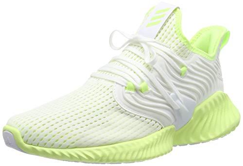 adidas Alphabounce Instinct CC M, Zapatillas de Running para Hombre, Blanco (FTWR White/Hi/Res Yellow/Hi/Res Yellow FTWR White/Hi/Res Yellow/Hi/Res Yellow), 50 2/3 EU