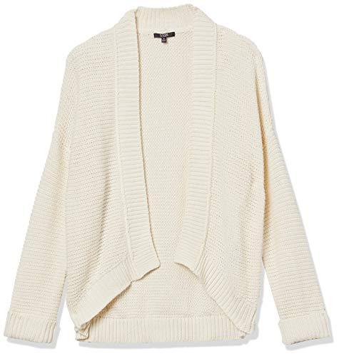 NYDJ Women's Long Sleeve Cardigan, Vanilla, XL