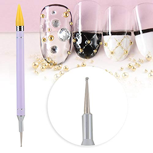 wax pen Nail Sticker Collect Albums, 30 Pages Nail Sticker Collection Albums Organisateur de livre de rangement pliable(#1)