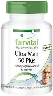 Ultra Man 50 Plus - Multivitamínico PARA HOMBRES - Dosis elevada - más