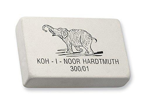 KOH-I-NOOR 0300001001KK Large'Elephant' Soft Eraser