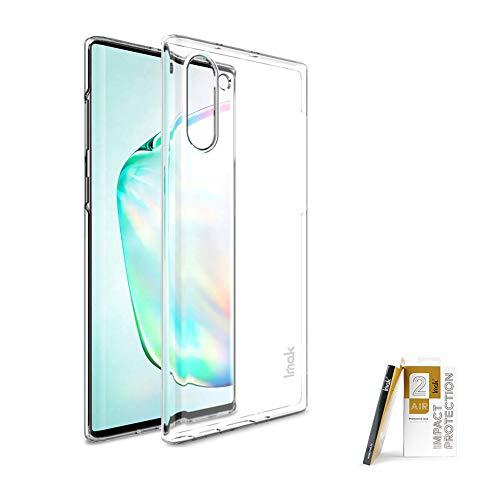 COPAAD - Carcasa rígida para Samsung Galaxy Note 10, ultrafina, resistente al desgaste, transparente