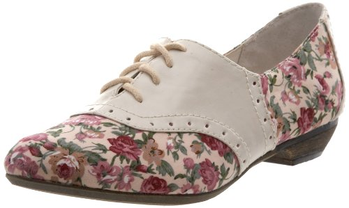 Big Buddha Women's Rilo Oxford,Flower Multi,8 M US