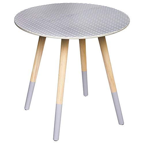 Table basse en bois Grise