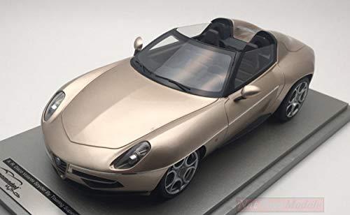 Tecnomodel TMD1868D ALFA Romeo Disco Volante Spyder 2016 MET.Champagne 1:18 kompatibel mit