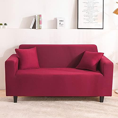 PPOS Funda de sofá Suave Stretch Force Funda de sofá elástica Universal Funda para el hogar Funda para sofá Chaise Funda para sofá A4 3 Asientos 190-230cm-1pc