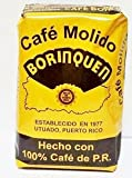 Cafe Borinquen - Puerto Rican Ground Coffee by Torrefaccion Cafe El Coqui - 2 pounds VALUE PACK (4 - 8 0z Packs)