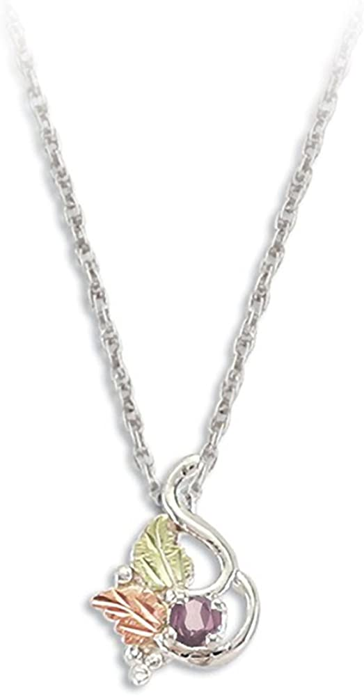 Silver Black Hills Necklace with Popular overseas Alexandrit MM synthetic Bargain round 3