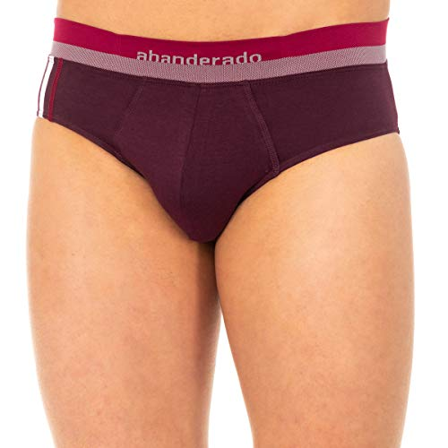 Abanderado - Slip Advanced Cintura EXTRASUAVE Sport - Granate, 56/XL