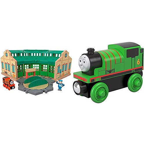 FISHER-PRICE THOMAS&FRIENDS WOOD TIDMOUTH SHEDS MULTI COLOR&FISHER-PRICE WOOD 퍼시