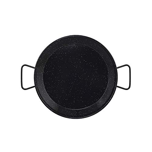 Metaltex - Paellera Acero Esmaltado 9 Raciones 40 cm