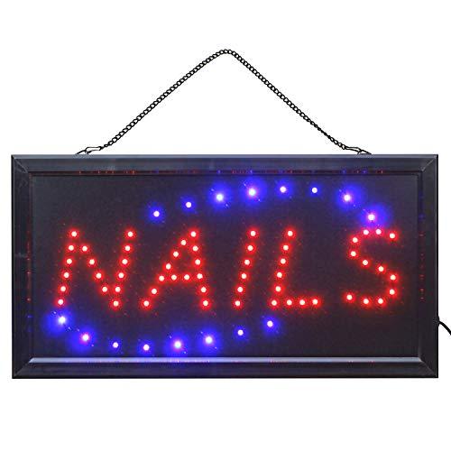 LED Schild Nagelstudio Kosmetikstudio Nails