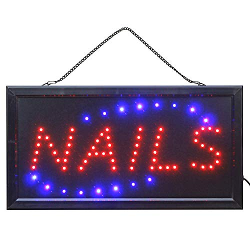 LED Schild Nagelstudio Kosmetikstudio Nails