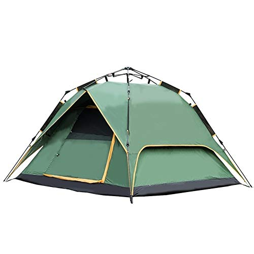XuCesfs Tente d'extérieur carrée pour 3-4 personnes, Vert