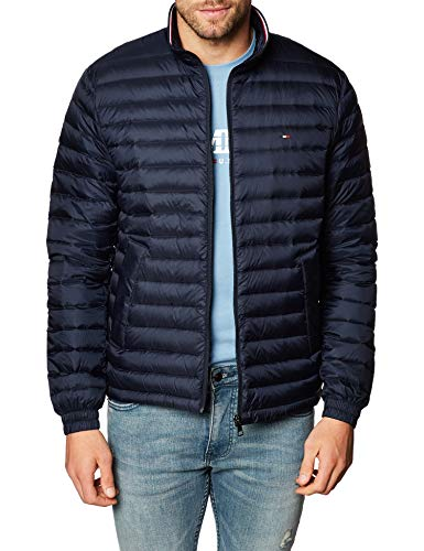 Tommy Hilfiger Herren Übergangsjacke CORE Packable DOWN Jacket Navy XXXL