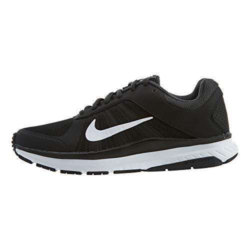 Nike Women's Dart 12 MSL Running Shoes Black/White 10