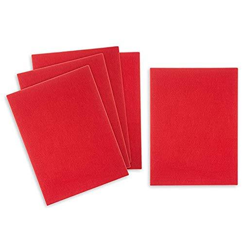Janly Clearance Sale Hojas de fieltro rígidas para manualidades, 23 x 30 cm de grosor, 3 mm de grosor, tela de color para manualidades, costura, proyectos de arte, hogar DIY para el día de Pascua (D)