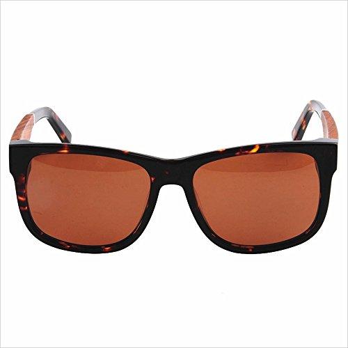 InChengGouFouX Sport Zonnebril Klassieke Gepolariseerde Zonnebril Acetaat Fibre Frame Hout Been TAC Lens UV Bescherming Rijden Vissen Strand Outdoor Zonnebril Outdoor Zonnebril