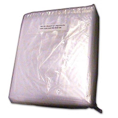 Kingfisher Packaging durchsichtige Plastiktüten (1000er-Pack) (20 x 25 cm/8 x 10 Inches) (Durchsichtig)