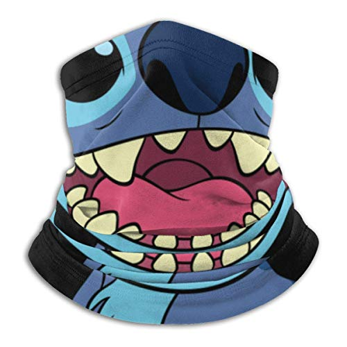 XXWK Halstuch/Kopftuch, Lilo Stitch Warmer Neck Gaiter Windproof Mouth Face Ma-sk Magic Scarf Bandana Balaclava