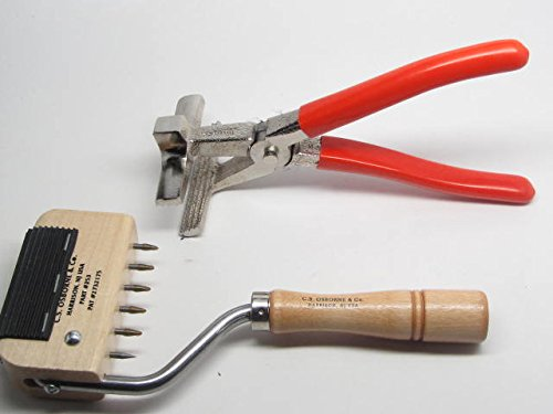 UJ Ramelson Co Osborne 250 253 Webbing Stretcher Canvas Leather Pliers Upholstery Tool