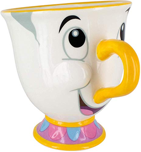 Disney Teiera e Tazza, Porcellana, Multi-Colour, Standard