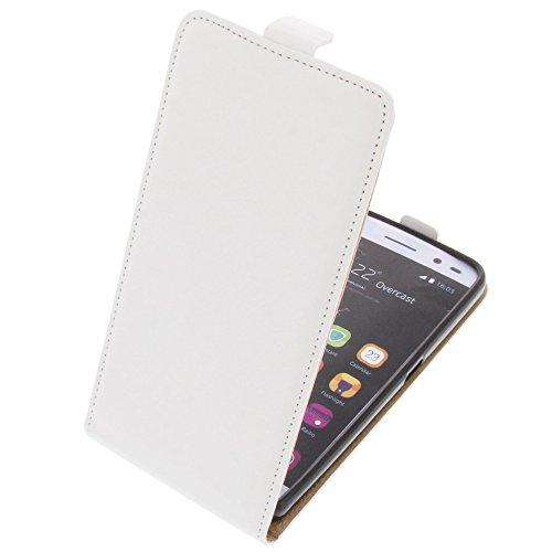 foto-kontor Tasche für ZTE Blade V7 Lite Smartphone Flipstyle Schutz Hülle weiß