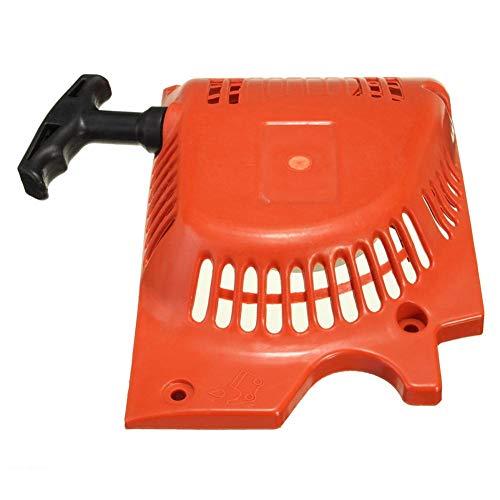 Retroceso Comienzo del Tirón De Arranque Rojo para 4500 5200 5800 45cc 52cc 58cc China De La Motosierra Tarus Timbertech Kiam Sherwood Sanli