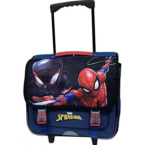Cartable trolley avec roulettes Spider-Man Qualité...