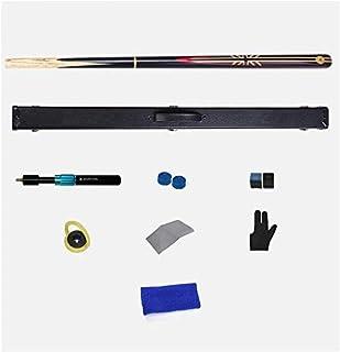 Xiaoyue Taco de Billar, 3/4 Conjunta Hecha a Mano 145cm Snooker Cue Bliiard Varilla del Caso y del telescopio de 10 mm Extensión Consejo lalay (Color : #3)