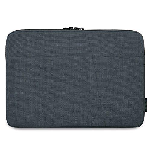 Adore June 15,6 Zoll Axis Tasche kompatibel mit Dell XPS 15 2015-2019, Laptop-Tasche mit Extrafach, Urban Grau