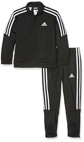 adidas Jungen Tiro Trainingsanzug, Black/White, 140