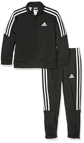 adidas Jungen Tiro Trainingsanzug, Black/White, 128