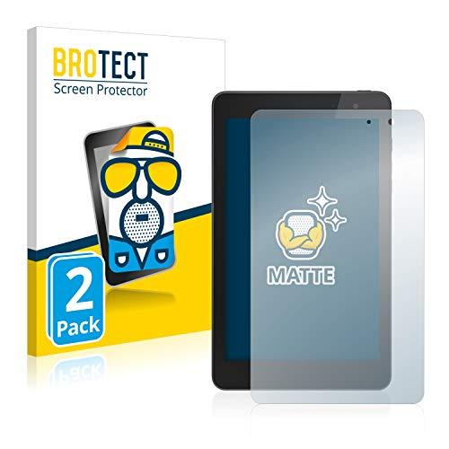 BROTECT 2X Entspiegelungs-Schutzfolie kompatibel mit Dell Venue 8 Pro Bildschirmschutz-Folie Matt, Anti-Reflex, Anti-Fingerprint