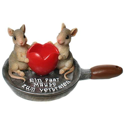Kremers Schatzkiste Ein Paar Mäuse zum verbraten Lustige Geschenk Idee Geldgeschenk Verpackung