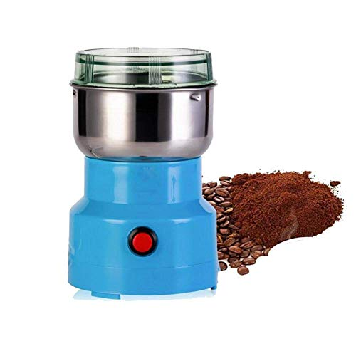 GLX Material Mühle Mahlwerk Haushalts Körner Und Kleine Nahrungsergänzungsmittel Der Chinesischen Medizin Ultrafeinen Mahlwerk Pulver Schleifmaschine,Blau